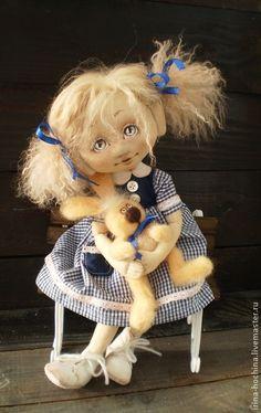 Ароматизированные куклы ручной работы. Ярмарка Мастеров - ручная работа Текстильная  ароматизированная кукла Леночка. Handmade.