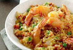 #Risotto façon #paella #quinoa