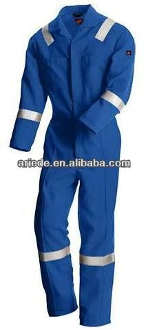 mens high visibility coverall workwear uniform safety wear