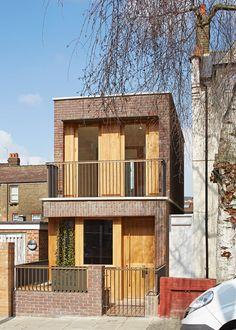 Haringey Brick House, London, England, UK by Satish Jassal Architects.