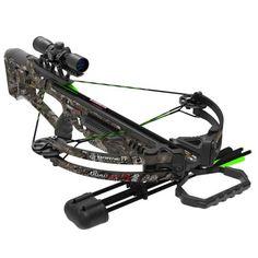 Barnett Quad Edge Camo Crossbow Package 350 FPS 78041