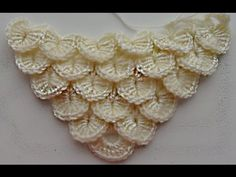 Crochet Videos, Crochet Basics, Crochet Shawl, Beautiful Patterns, Knit Patterns, Knots, Crochet Necklace, Knitting, Crafts