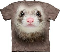 Ferret Face T-Shirt at theBIGzoo