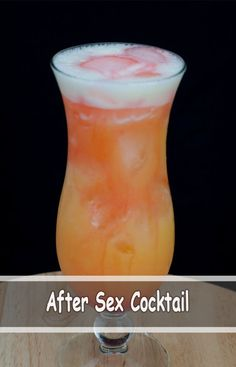After Sex Cocktail - cuisine recipes Tequila Drinks, Liquor Drinks, Juice Drinks, Drinks Alcohol Recipes, Drink Recipes, Party Drinks, Cocktail Drinks, Fun Drinks, Cocktails