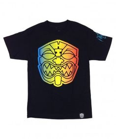 Men's FMHI X ISH Tee - Akua; Color Options: Black. $32.00. Limited edition Farmers Market Hawaii X Island Snow Hawaii collaboration tee featuring the Rainbow Akua.  Available for a limited time restock online at islandsnow.com.  Originally dropped at the Island Snow Hawaii Kailua Beach Center location on August 23rd.