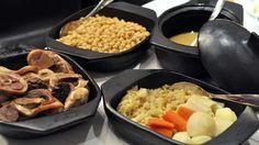 El Gourmet Urbano:  La tradición de un buen cocido madrileño en 'tres vuelcos'