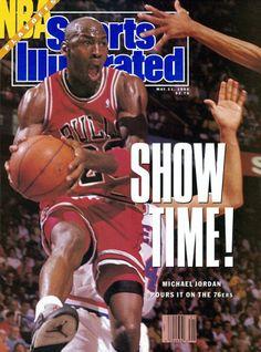Michael Jordan in Sports Illustrated, 1990