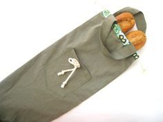 Bolsa de pan barras bolsa de algodon por artexplosive en Etsy, $8.00