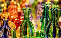 Glasswork on murano island, italy. Glass making transition in murano island in the venetian lagoon, northern italy. History Of Glass, Murano Glass Vase, Glass Museum, Glass Artwork, Venetian Glass, Venice Glass, Italian Art, Glass Bottles, Art Decor