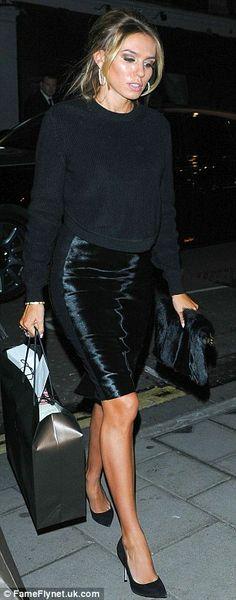 Petra Ecclestone + skirt