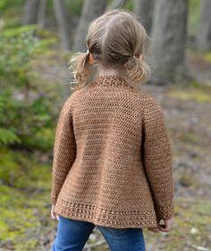 CROCHET PATTERN-The Jadore Sweater 1/2 3/4 5/6 7/8 9/10