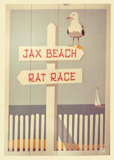 Vintage Beach Signs, Board, Home Decor, Decoration Home, Room Decor, Home Interior Design, Planks, Home Decoration, Interior Design