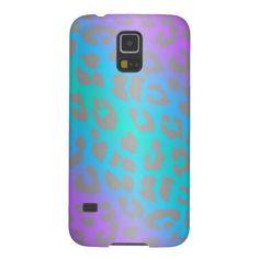 Cool Electric Leopard Animal Print Samsung Galaxy S5 Case