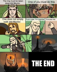 One way the LOTR could have ended