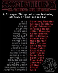 Make sure to check out this amazing Stanger Things art event tonight at @toydejour! . . .  For the love of all things Eggo Toy de Jour has used its time machine to go back to the 80s and grab a bunch of talented (f)Artists to compile a Stranger Things group art show! // Side note: the story of us going back and grabbing all these folks for this show was later written and adapted into what you all now know as Bill & Teds Excellent Adventure but thats getting us off track and a show for a…