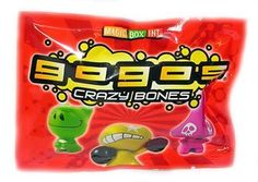 Crazy Bones Gogos Series 1 Booster Pack 3 Crazy Bones for only $3.49