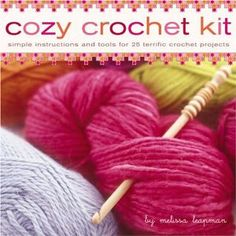 Cozy Crochet Kit Simple Instructions and Tools for by NowAndZhen, $35.00
