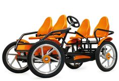 Touring Quadricycle Lets You Put The Kids Up Front