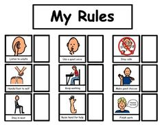 PIcture Cue Cards for semi-verbal students. Classroom Expectations, Classroom Behavior, Classroom Themes, Kindergarten Behavior, Preschool Pictures, Social Stories Autism, Cue Cards, Visual Cue, Autism