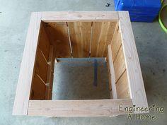 Pretty Front Porch: DIY Large Cedar Planter Boxes – Engineering A Home Planter Box Plans, Cedar Planter Box, Garden Planter Boxes, Outdoor Wood Projects, Wood Shop Projects, Diy Outdoor Furniture, Outdoor Ideas, Diy Wooden Planters, Diy Planters Outdoor