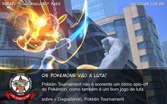 Os Pokémons Vão A Luta! - Pokkén Tournament não é somente um ótimo spin-off de Pokémon, como também é um bom jogo de luta. #VaoJogar #VideoGame #VideoGames #Jogos #Games #Pokken #PokkenTournament #Pokemon #WiiU #Nintendo