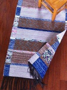 Double-Faced Rag Rug