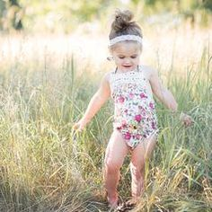 5632d03200 Boho Chic Halter Bubble Romper - Secret Garden - Bailey s Blossoms - 1  Bubble