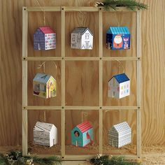 Crate and Barrel invited 8 artists to design these limited-release ornaments inspired by their partnership with Rebuilding Together. They'll donate $10 to Rebuilding Together for each of these ornaments sold!