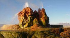 7. Fly Geyser, Nevada