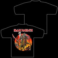 Iron Maiden Samurai Shirt