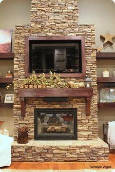 Mantel Decorations / IDEAS & INSPIRATIONS : Fall Mantel - CotCozy