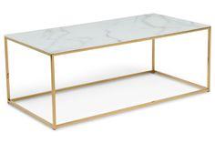 Sohvapöytä Valeria 120x60cm  - Lasimarmori   Kodin1.com