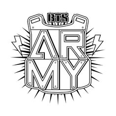 bts logo army - Buscar con Google