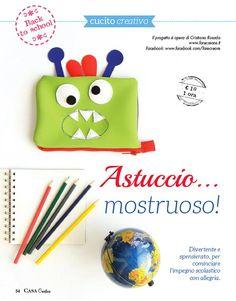 Astuccio scuola fai da te http://www.farecreare.it/astuccio-e-zainetto-fai-da-te/