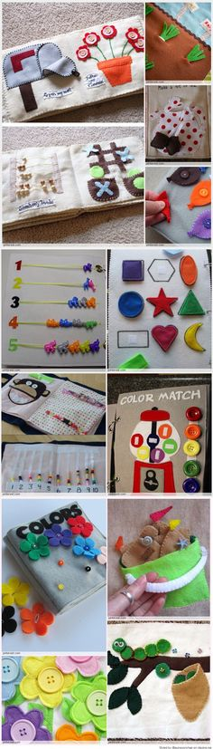 Quiet Book Patterns Ideas Read at : craftsome.blogspo...