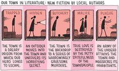 Per chi vive in piccole città o paesini è sempre un brivido leggere un romanzo ambientato nei propri luoghi.