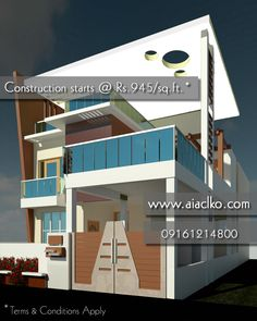 Construction of your residential building!!! Our package starts at Rs. 945.0/sq.ft. (Terms & Conditions apply). Contact us anytime if you have a construction plan for any Residential or Commercial building.