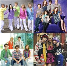 Sonny With a Chance, Wizards of Waverly Place, Jonas L.A. & Hannah Montana