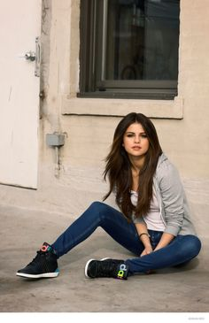 Selena Gomez for adidas NEO Fall 2014 Ad Campaign Those sneakers though.. really