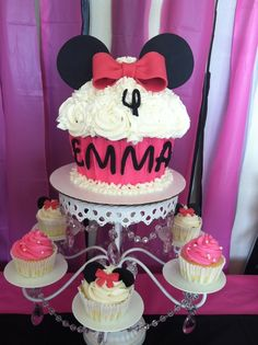 """Photo 17 of 38: Minnie Mouse / Birthday """"Emma's Minnie Mouse 4th Birthday"""" 