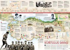 Kurtuluş Savaşı - İnfografik