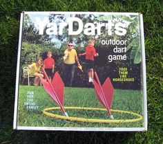 Backyard Games For Adults | Yardarts Lawn Jarts Outdoor Yard Dart Game for Adults - Other