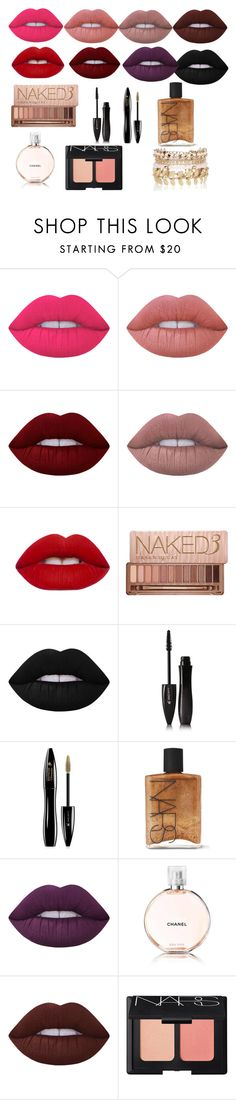 """""""Favorite"""" by sofiaoneofakind on Polyvore featuring beauty, Lime Crime, Urban Decay, Lancôme, NARS Cosmetics, Chanel and River Island"""