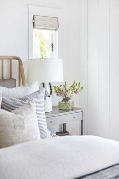 Portfolio Page — Pure Salt Interiors Modern Bedroom Design, Master Bedroom Design, Dream Rooms, Dream Bedroom, Boudoir, Cottage Living, Cottage Bedrooms, Cozy Cottage, Guest Bedrooms