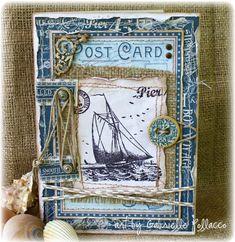 Nautical Card **GRAPHIC 45 Guest Designer** - Scrapbook.com