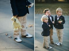 adorable ring bearers | Dori & Geoff's intimate, modern Washington DC wedding. Images: Love Life Images