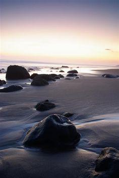Beach in El Salvador Playa Zonte