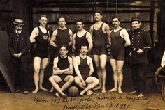 Waterpolo Champions, Montpellier, France,  1910
