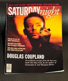 Saturday Night Magazine - Douglas Coupland Cover - March 1994