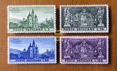 EBS Vatican City Città del Vaticano 1957 Mariazell Basilica 229-232 MNH** in Stamps, Europe, Vatican | eBay